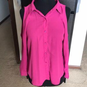 Dressy pink top